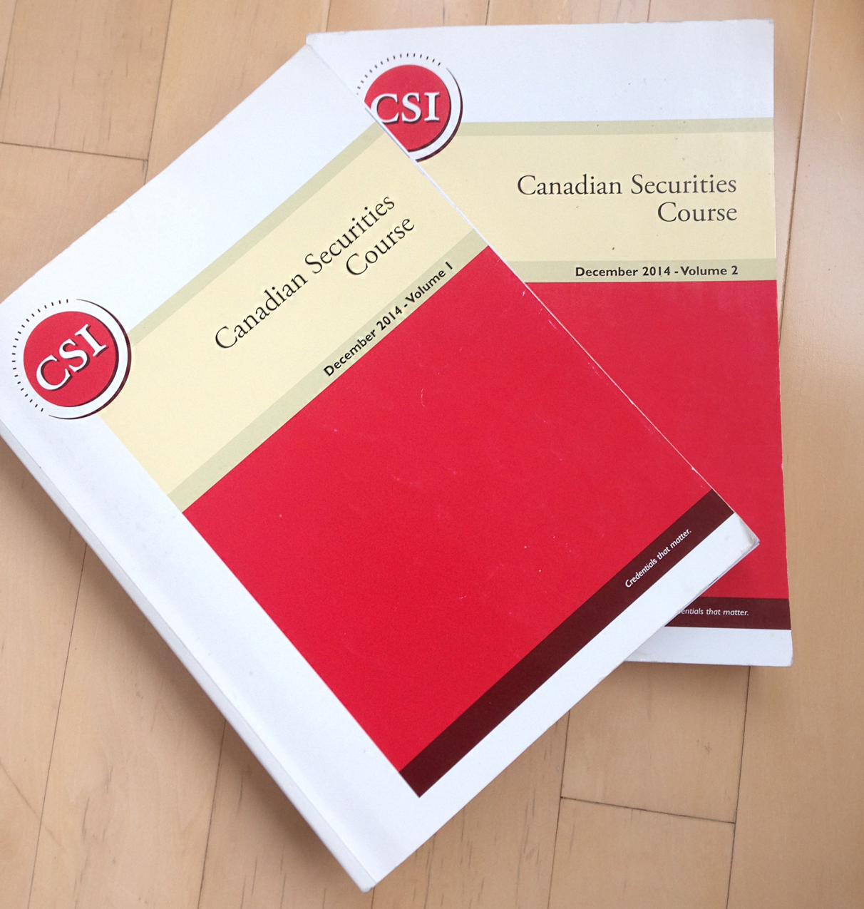 The Canadian Securities Course